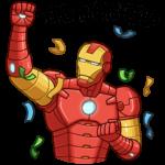Железный Человек: cтикер №27