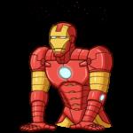 Железный Человек: cтикер №29