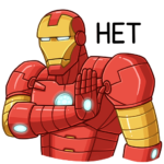 Железный Человек: cтикер №31