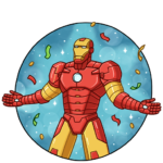 Железный Человек: cтикер №32