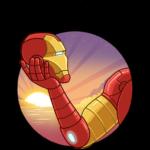 Железный Человек: cтикер №34
