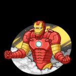 Железный Человек: cтикер №35