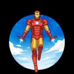 Железный Человек: cтикер №36