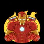 Железный Человек: cтикер №37