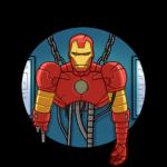 Железный Человек: cтикер №40