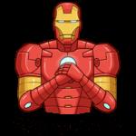 Железный Человек: cтикер №42