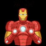 Железный Человек: cтикер №44