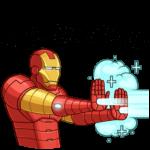 Железный Человек: cтикер №45