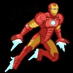 Железный Человек: cтикер №47