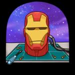 Железный Человек: cтикер №48