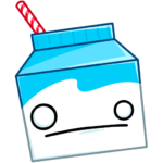 Молочко: cтикер №21