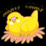 Попуги: cтикер №2