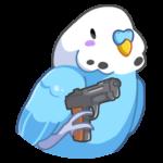 Попуги: cтикер №3