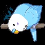 Попуги: cтикер №10