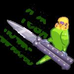 Попуги: cтикер №15