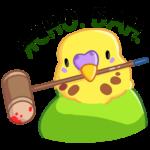 Попуги: cтикер №22