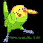 Попуги: cтикер №29