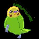 Попуги: cтикер №32