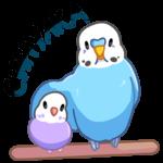 Попуги: cтикер №39