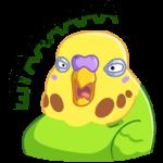 Попуги: cтикер №43