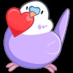 Попуги: cтикер №45