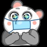 Панда Мия: cтикер №4