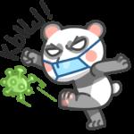 Панда Мия: cтикер №6