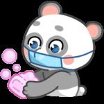 Панда Мия: cтикер №18