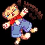 Тигруша Ванюша: cтикер №8
