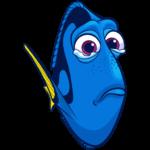 Рыбка Дори: cтикер №3