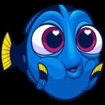 Рыбка Дори: cтикер №8