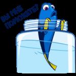 Рыбка Дори: cтикер №15