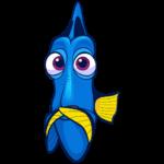 Рыбка Дори: cтикер №31