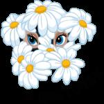 Цветочек: cтикер №6