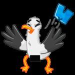 Чайка Сэм: cтикер №41