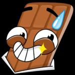 Чоко: cтикер №3