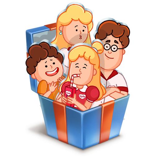 Стикеры «Стикерпак для всей семьи от Чудо»