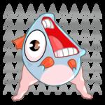 Реверсивная русалка: cтикер №31