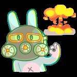 Кролик Кир: cтикер №7