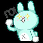 Кролик Кир: cтикер №13