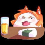 Айко-тян: cтикер №14