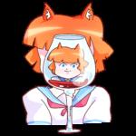 Айко-тян: cтикер №24