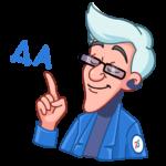 Атомная команда: cтикер №7