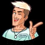 Durex: cтикер №9