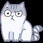 Серый Персик: cтикер №41