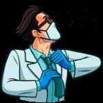 Главный врач: cтикер №8