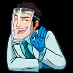 Главный врач: cтикер №10
