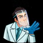 Главный врач: cтикер №11