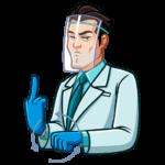 Главный врач: cтикер №13