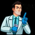 Главный врач: cтикер №14